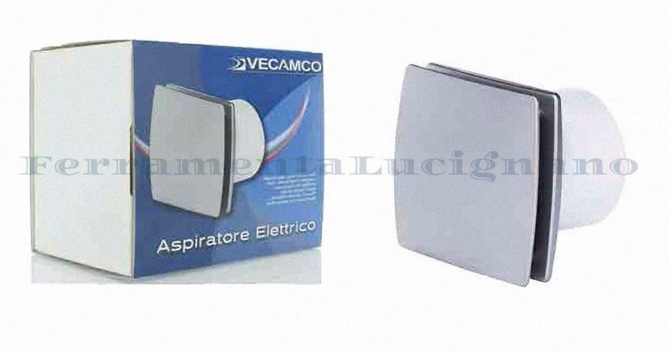 Aspiratore elettrico ventola bagno vortice da muro silver cromo 19w foro ebay - Ventola bagno vortice ...