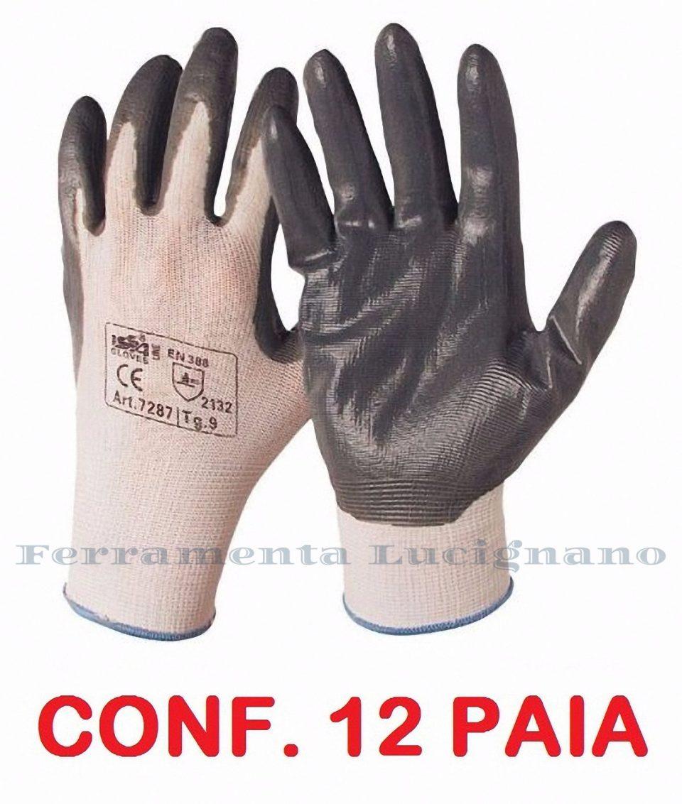 8// L  10 PAIA GUANTI//GUANTO SHOWA 370  CONFEZIONE tg